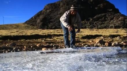 Temperaturas en invierno llegarán a 20 °C bajo cero en Arequipa