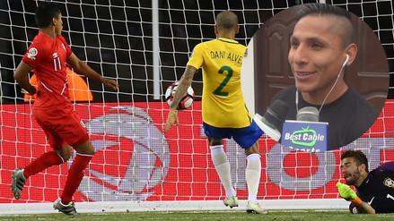 Copa América: Raúl Ruidíaz reconoció que metió gol con la mano a Brasil
