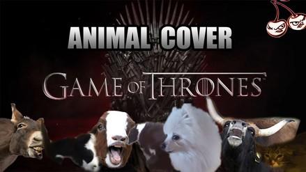 Game of Thrones: escucha el opening cantado por animales [VIDEO]