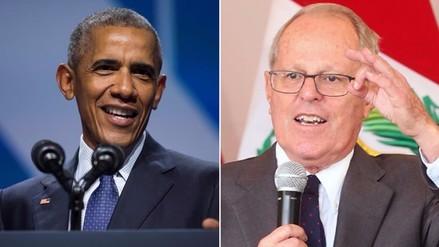 Obama felicita a PPK por su victoria en la segunda vuelta electoral