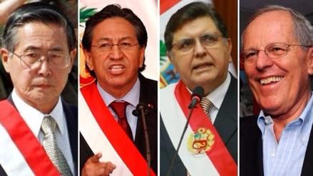 Este es el perfil de los últimos 7 presidentes del Perú