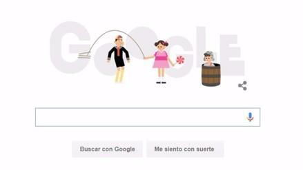 Google dedica 'Doodle' al Chavo del Ocho y conmemora su primera emisión