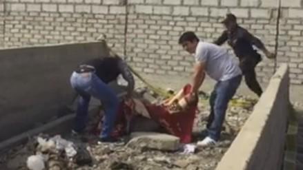 Trujillo: hallan cadáver de joven mujer en descampado de El Milagro