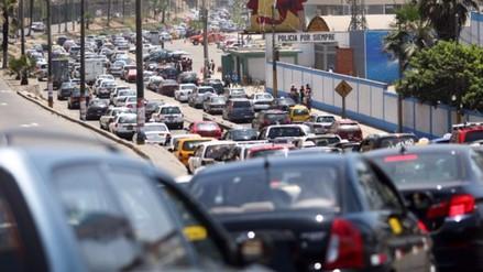 INEI: Flujo vehicular a nivel nacional creció 4.1% en abril