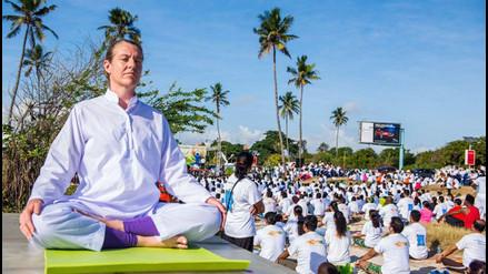 Twitter: la India y el mundo entero celebran el Día Internacional del Yoga