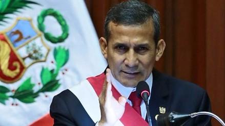 """Humala sobre usurpación de funciones: """"Yo soy el único que ejerce el poder"""""""