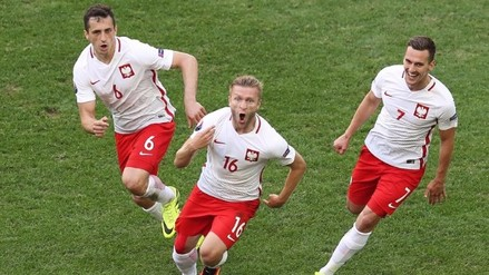 Eurocopa 2016: Polonia venció 1-0 a Ucrania y avanzó a octavos de final