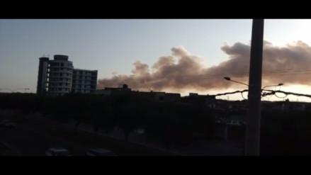 Trujillo: denuncian contaminación por quema de caña de azúcar