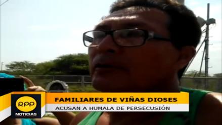 Familiares de Viñas acusan a Humala de persecusión a exautoridad
