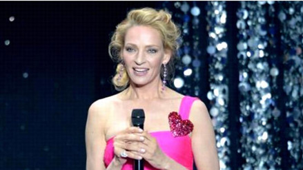 Uma Thurman sufrió aparatoso accidente