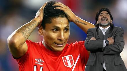 Diego Maradona opinó sobre el polémico gol de Raúl Ruidíaz a Brasil