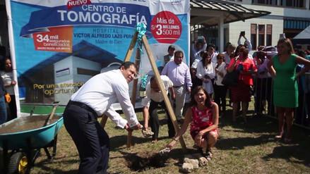 Puerto Maldonado: EsSalud construirá moderno Servicio de Tomografía