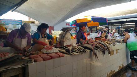 Hasta 4 soles por kilo se incrementó precio del pescado en Chiclayo