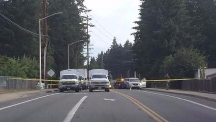 EE.UU.: tres muertos deja tiroteo en el estado de Washington