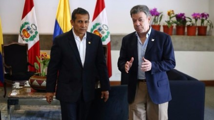 Humala saluda a presidente Santos y a colombianos por acuerdo con las FARC