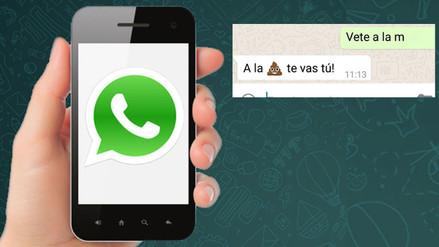 Hombre es arrestado por enviar un mensaje amenazante a su pareja vía WhatsApp