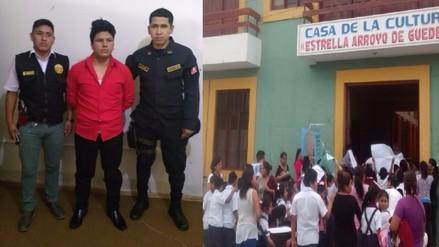 Ascope: encarcelan a sujeto acusado de intentar violar a policía
