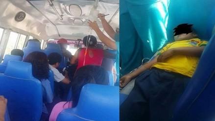 Investigarán caso de menor trasladado en cúster por falta de ambulancia
