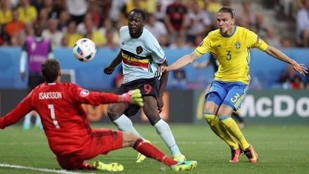Eurocopa: Bélgica venció 1-0 a Suecia avanzó a octavos de final