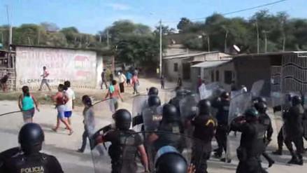 Tumbes: invasores de zona arqueológica atacan a policías