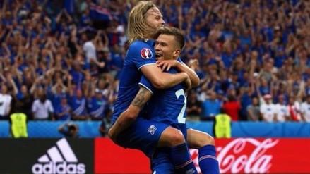 Islandia derrotó 2-1 a Austria y logró acceder a los octavos de final