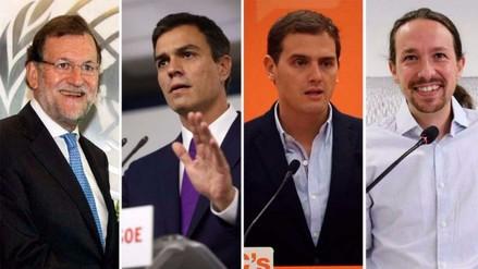 ¿Quiénes son los candidatos en las elecciones españolas de este domingo?