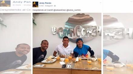 Alianza Lima: Andy Pando despidió a Óscar Vílchez mediante Instagram
