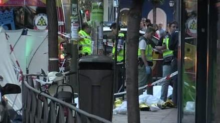 Asesinan a tres personas en bufete de un peruano en Madrid