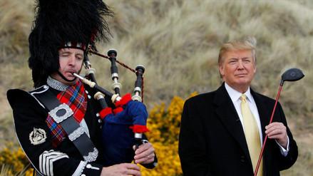 Donald Trump inaugura mañana un lujoso complejo hotelero en Escocia