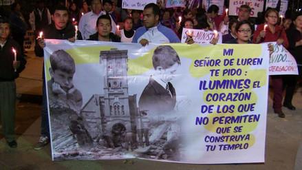 Feligresía de Ica realizó vigilia contra el ministerio de Cultura