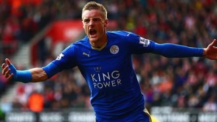 Jamie Vardy renovó su contrato con el Leicester City hasta 2020