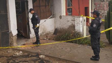 Extorsionadores detonan dinamita en vivienda de Santa Anita