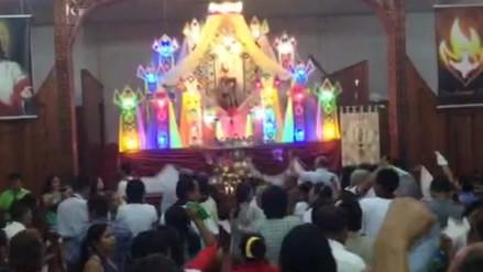 Pobladores ya viven la Fiesta de San Juan en Iquitos