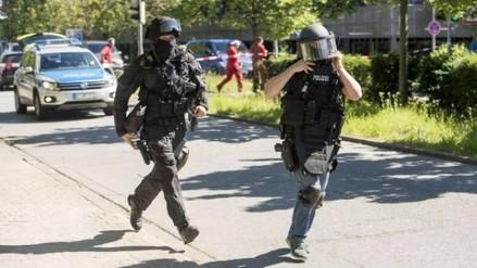 Policía alemana mató a atacante que entró a multicine