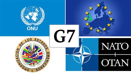 La Unión Europea y otras alianzas de países más importantes del mundo
