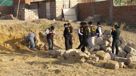 Hallazgo de restos óseos moviliza gran contingente policial
