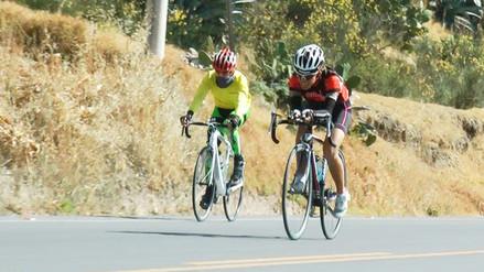 Huancayo: arequipeño César Gárate ganó etapa nacional de ciclismo