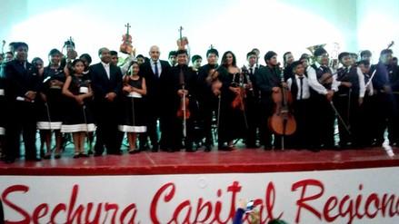 Sechura presentó su Orquesta Sinfónica Infantil