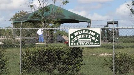 Sepultan a autor de matanza de Orlando en cementerio musulmán