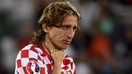 Eurocopa 2016: el llanto de Luka Modric tras la eliminación ante Portugal