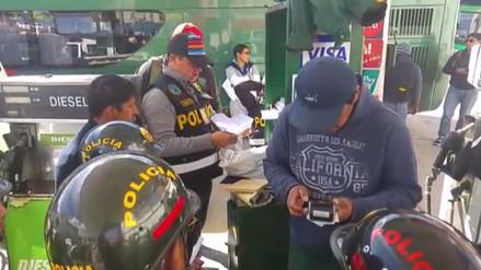 Intervienen grifo que abastecía de gasolina a policías en Cusco
