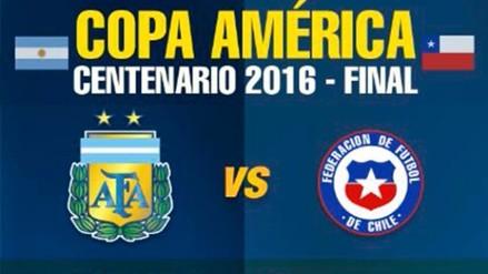 Argentina y Chile: Así llegan ambos equipos a la gran final