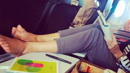 Instagram: 10 pasajeros con los que no te gustaría compartir un avión