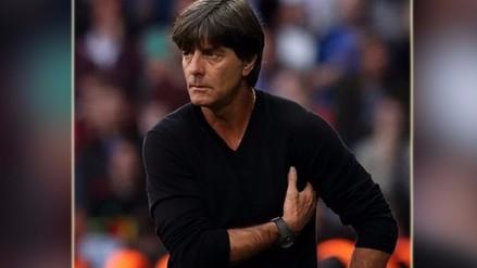 Eurocopa 2016: Joachim Löw volvió a realizar un gesto antihigiénico
