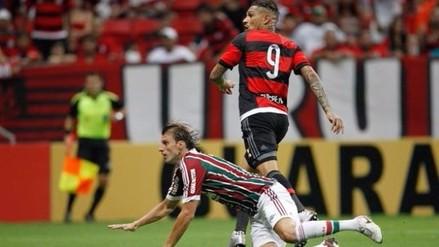 Paolo Guerrero anotó con Flamengo en derrota por 2-1 ante Fluminense
