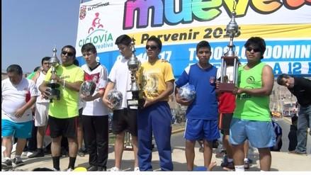 Invidentes trujillanos ganan subcampeonato de futsal y maratón