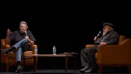 George R. R. Martin recibe consejos de Stephen King para escribir más rápido