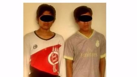 Trujillo: caen menores de 14 y 15 años de la banda 'Los Pitufos'
