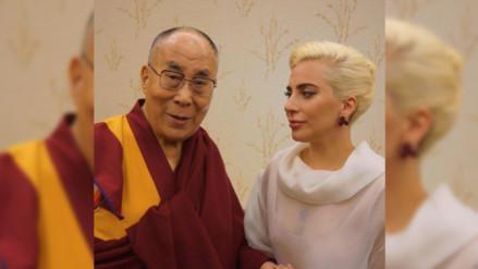 Encuentro de Dalái Lama y Lady Gaga es criticado por cibernautas chinos