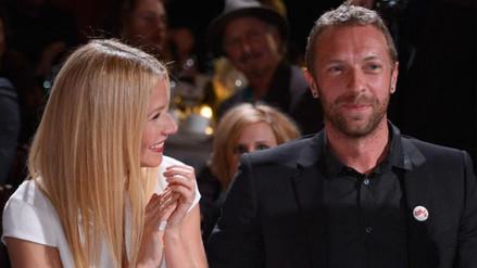 Chris Martin cantó con sus hijos y Gwyneth Paltrow estalló de orgullo